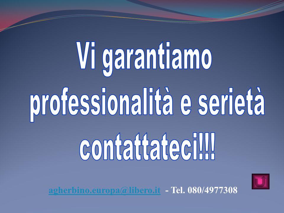agherbino.europa@libero.it - Tel. 080/4977308