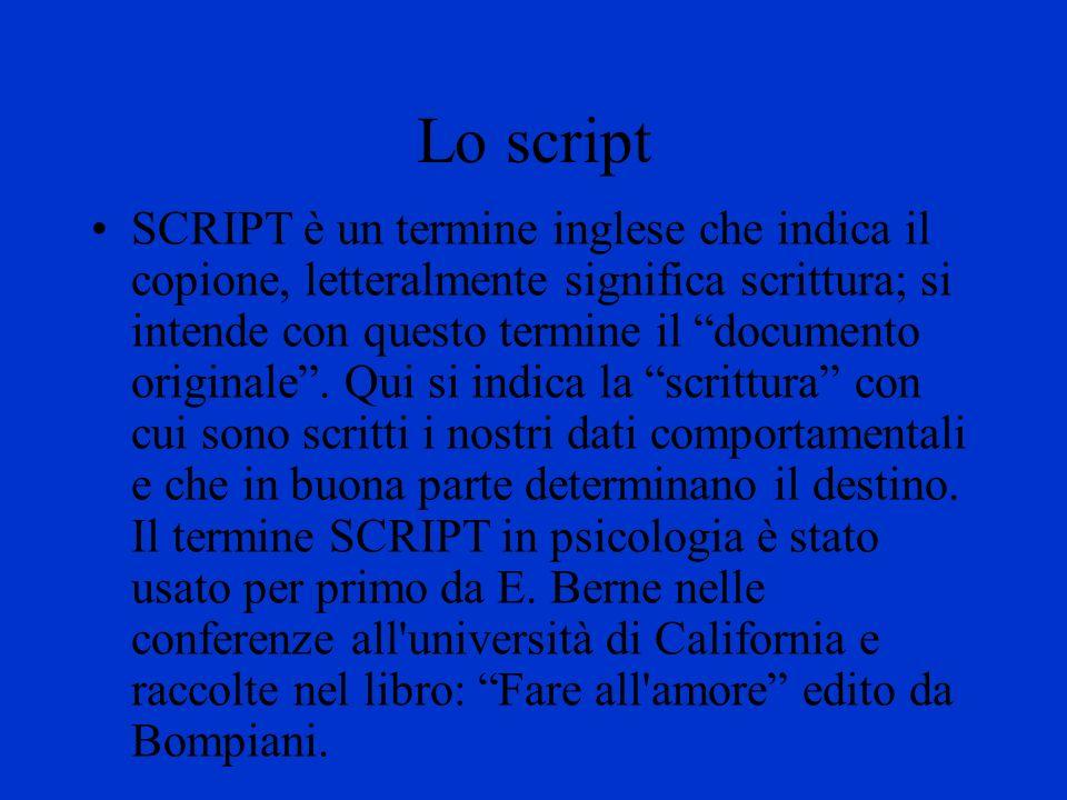 Lo script