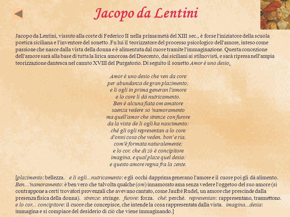 Jacopo da Lentini