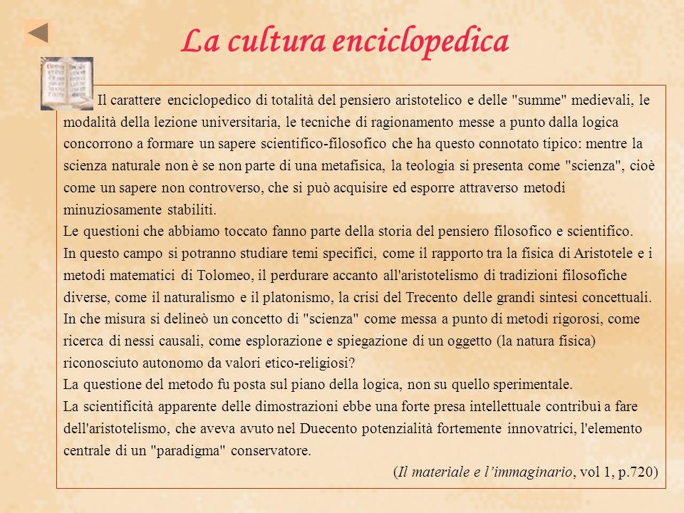 La cultura enciclopedica