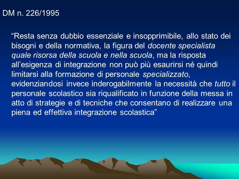 DM n. 226/1995
