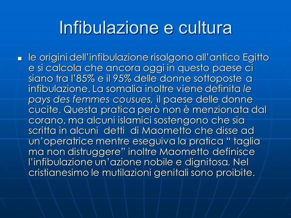 Infibulazione e cultura