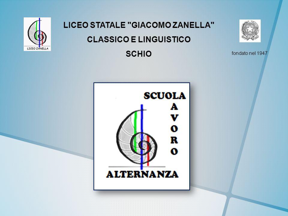 LICEO STATALE GIACOMO ZANELLA CLASSICO E LINGUISTICO