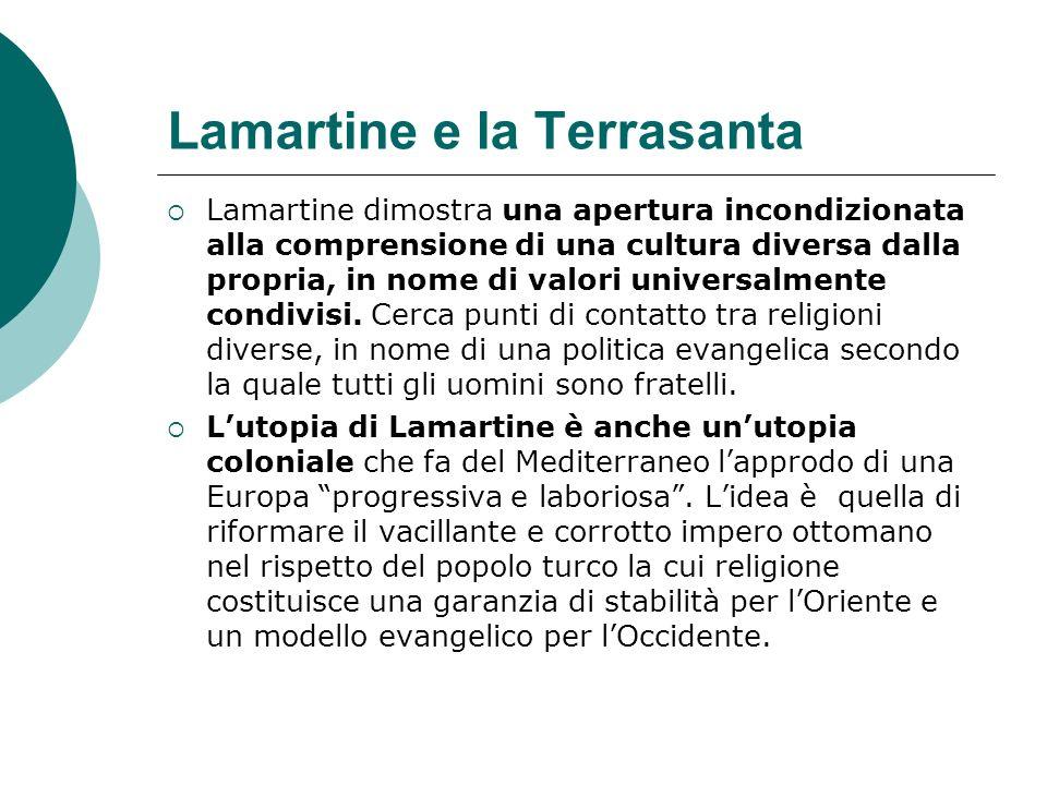 Lamartine e la Terrasanta