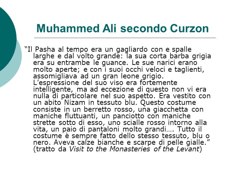 Muhammed Ali secondo Curzon