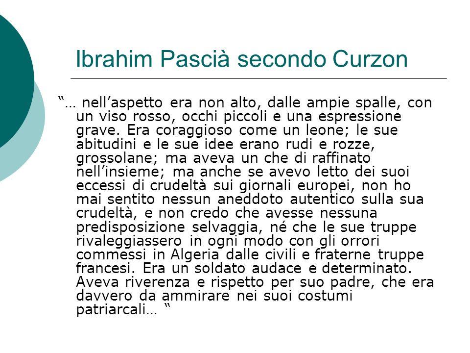 Ibrahim Pascià secondo Curzon