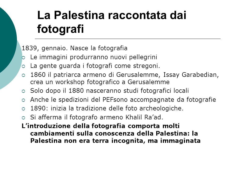La Palestina raccontata dai fotografi
