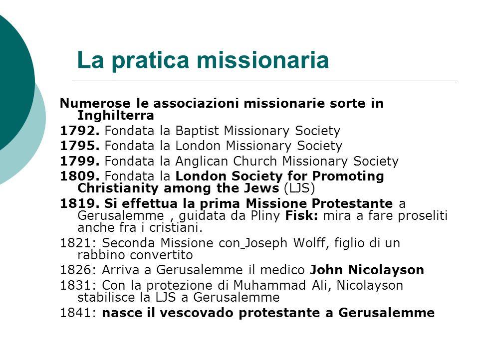 La pratica missionaria