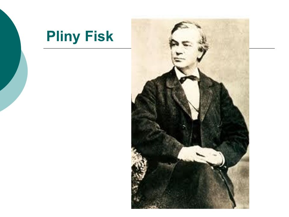 Pliny Fisk