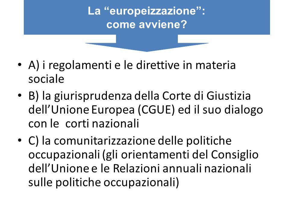La europeizzazione :