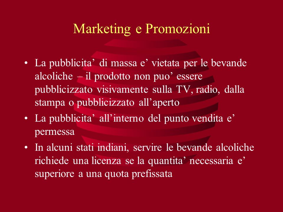 Marketing e Promozioni