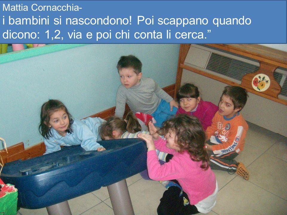 Mattia Cornacchia- i bambini si nascondono.
