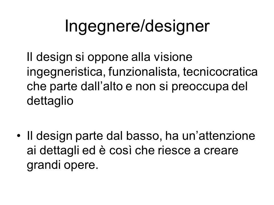 Ingegnere/designer