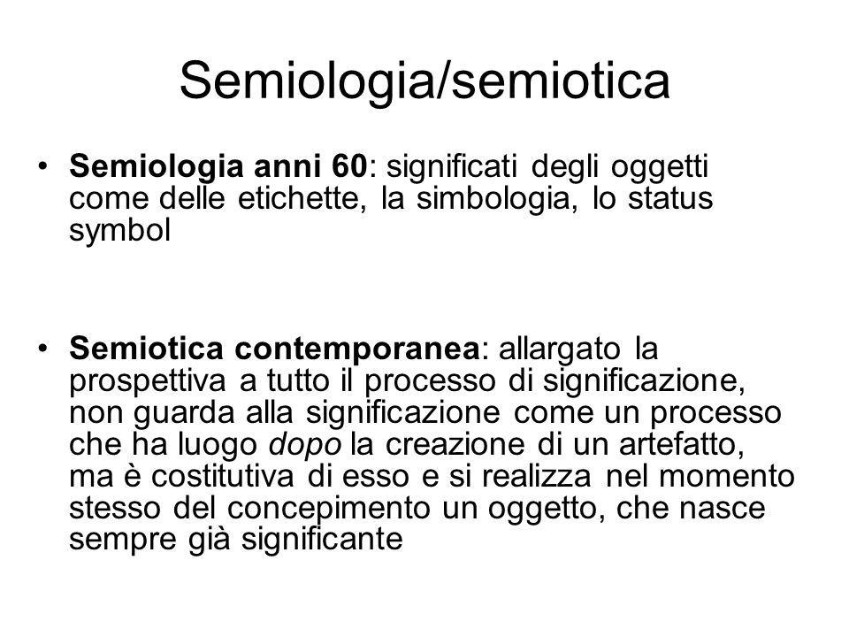 Semiologia/semiotica
