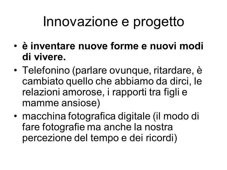 Innovazione e progetto