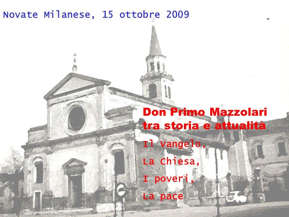 Don Primo Mazzolari tra storia e attualità