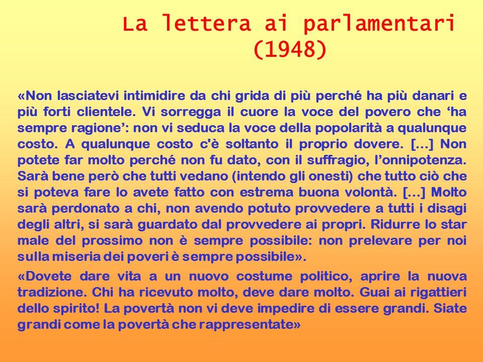 La lettera ai parlamentari (1948)