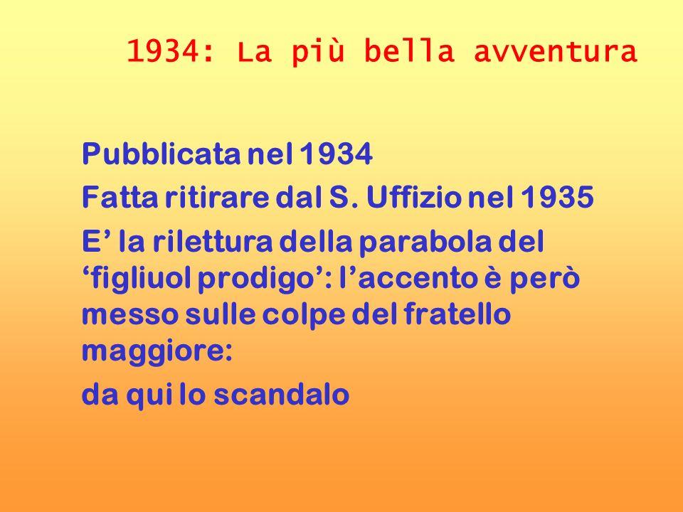 1934: La più bella avventura