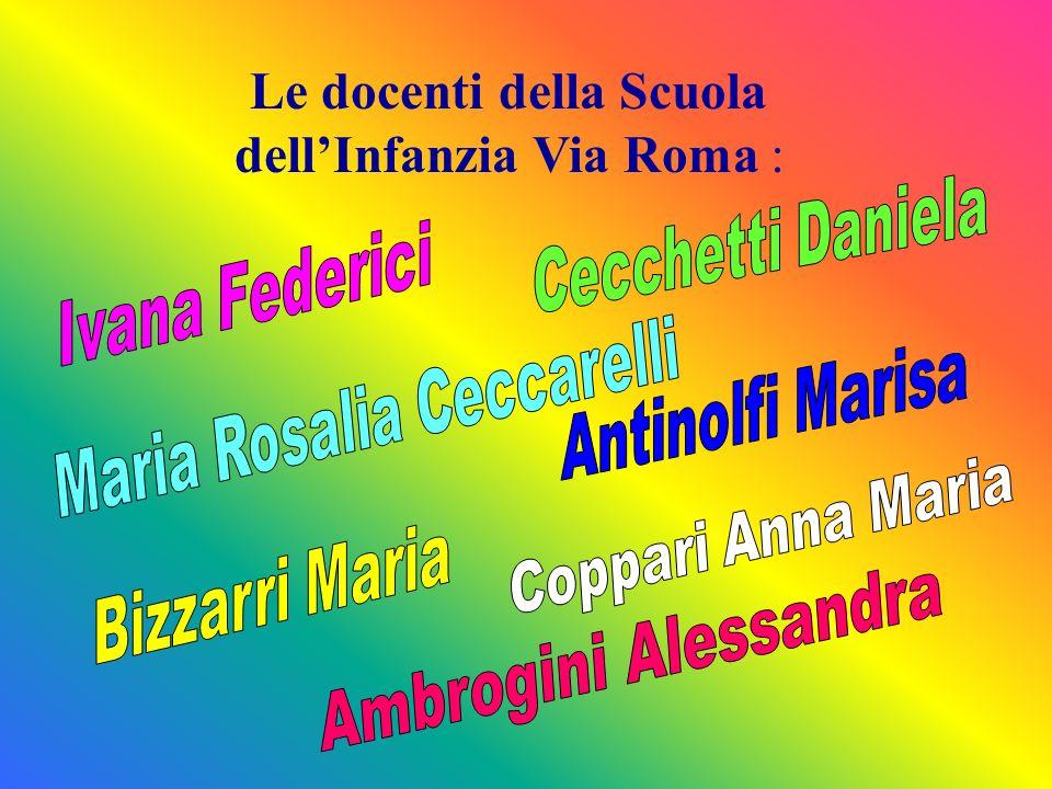 Le docenti della Scuola dell'Infanzia Via Roma :