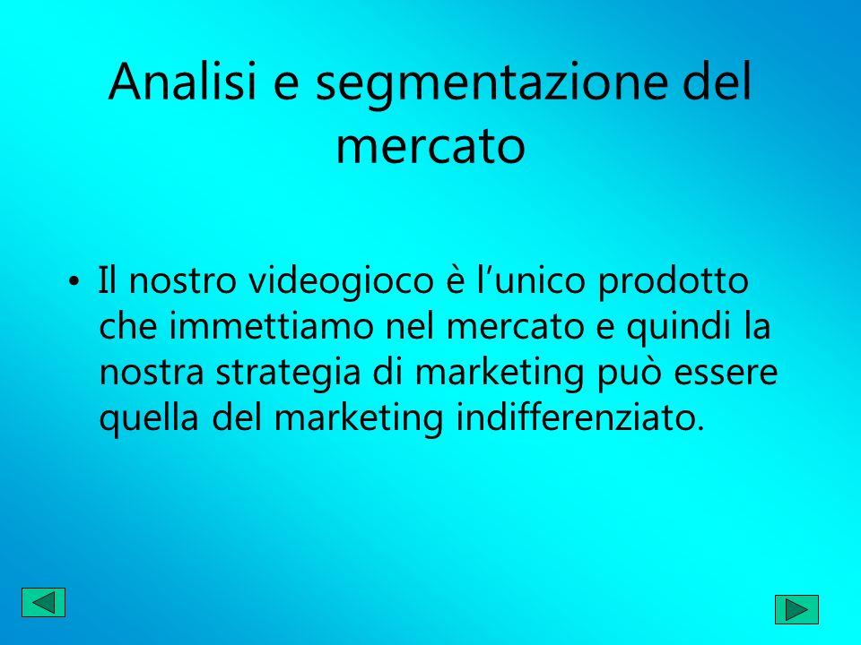Analisi e segmentazione del mercato