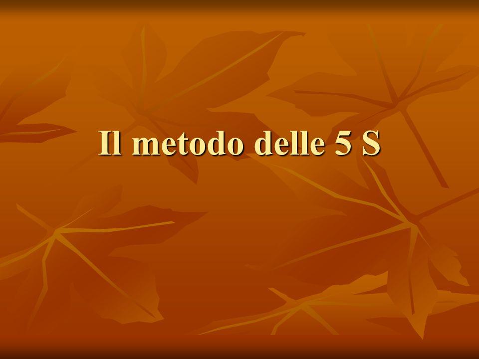 Il metodo delle 5 S