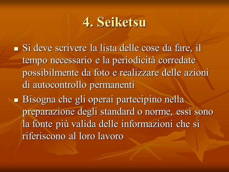 4. Seiketsu