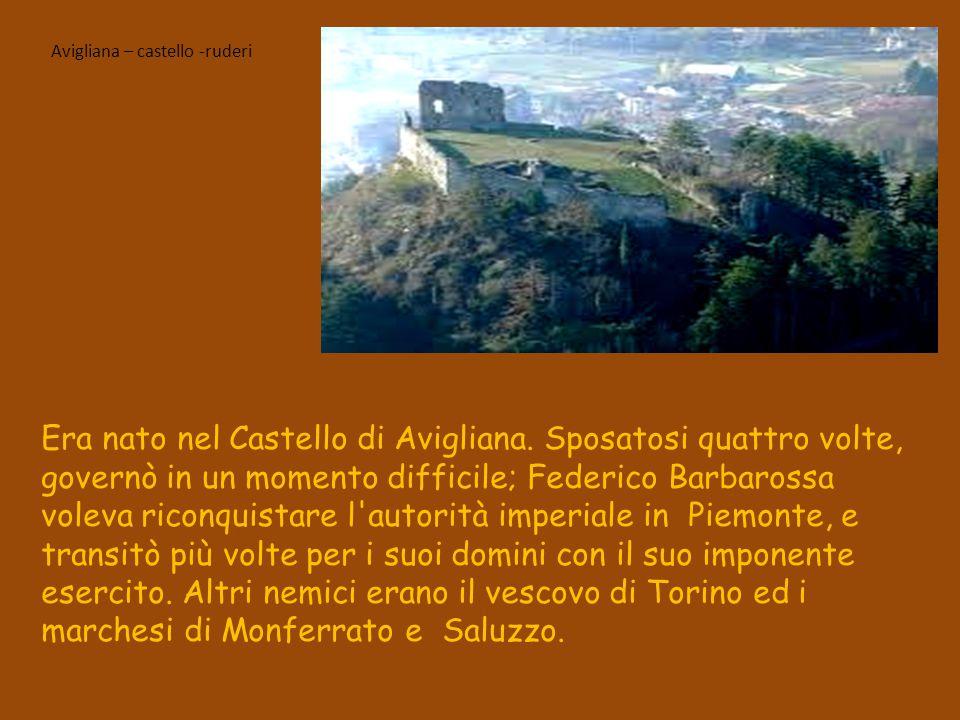 Avigliana – castello -ruderi