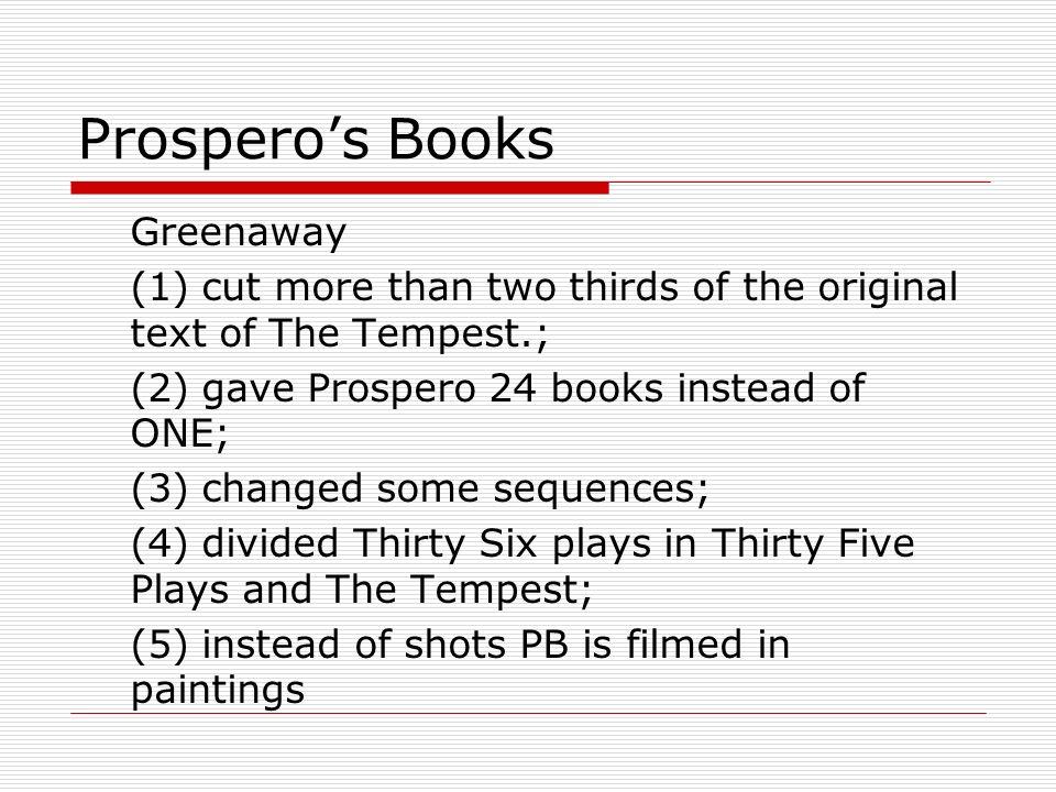 Prospero's Books Greenaway