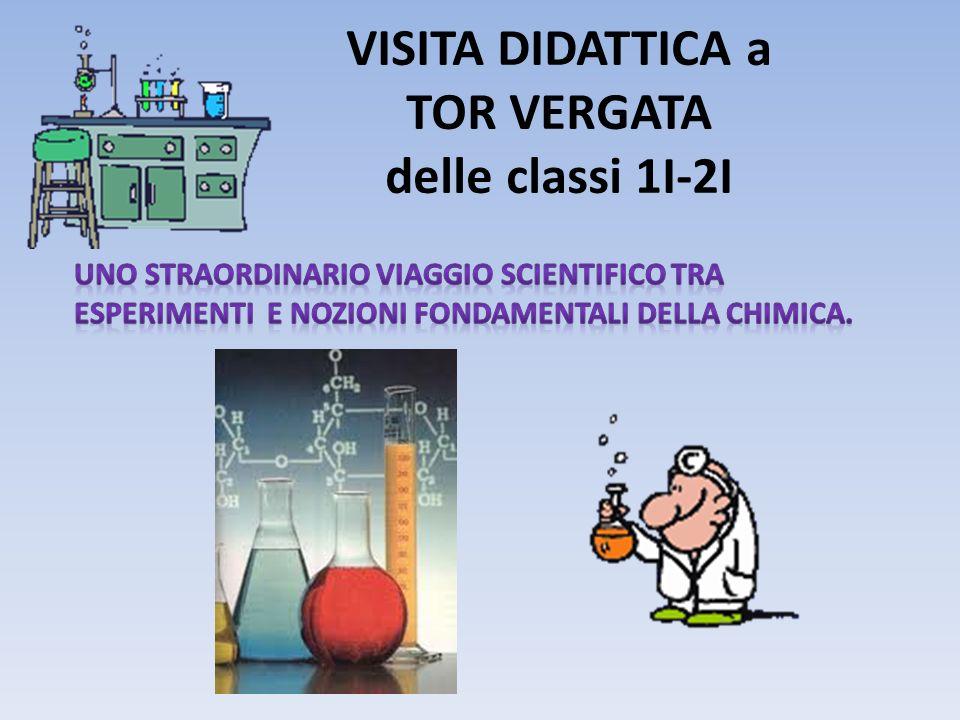 VISITA DIDATTICA a TOR VERGATA delle classi 1I-2I