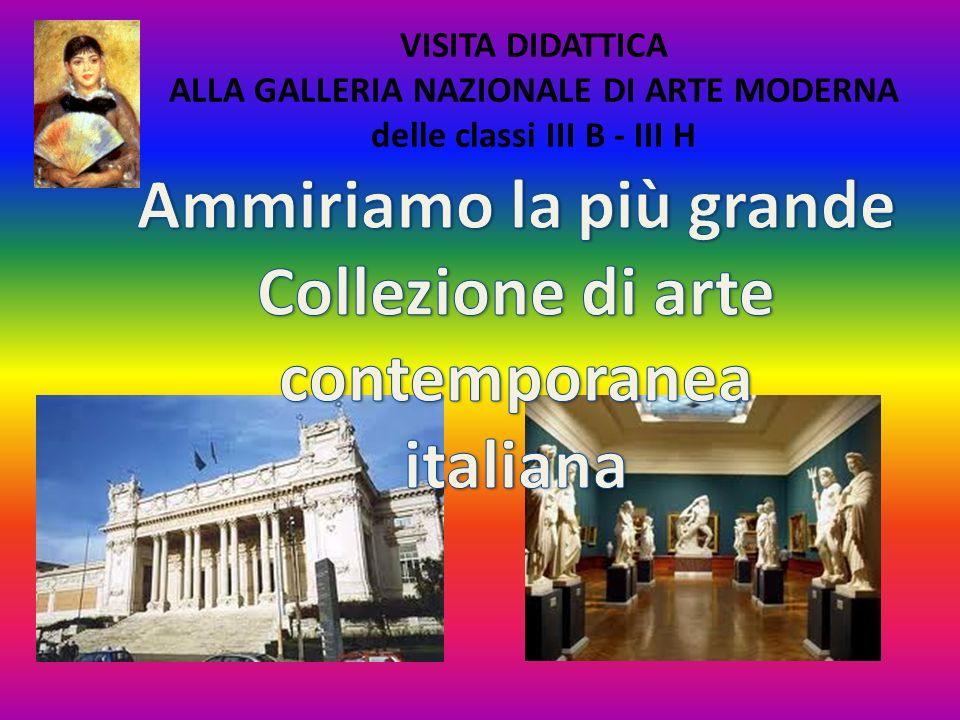 Ammiriamo la più grande Collezione di arte contemporanea