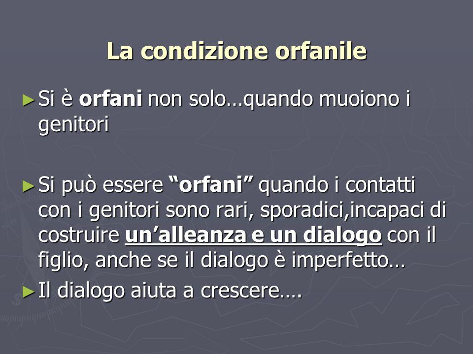 La condizione orfanile