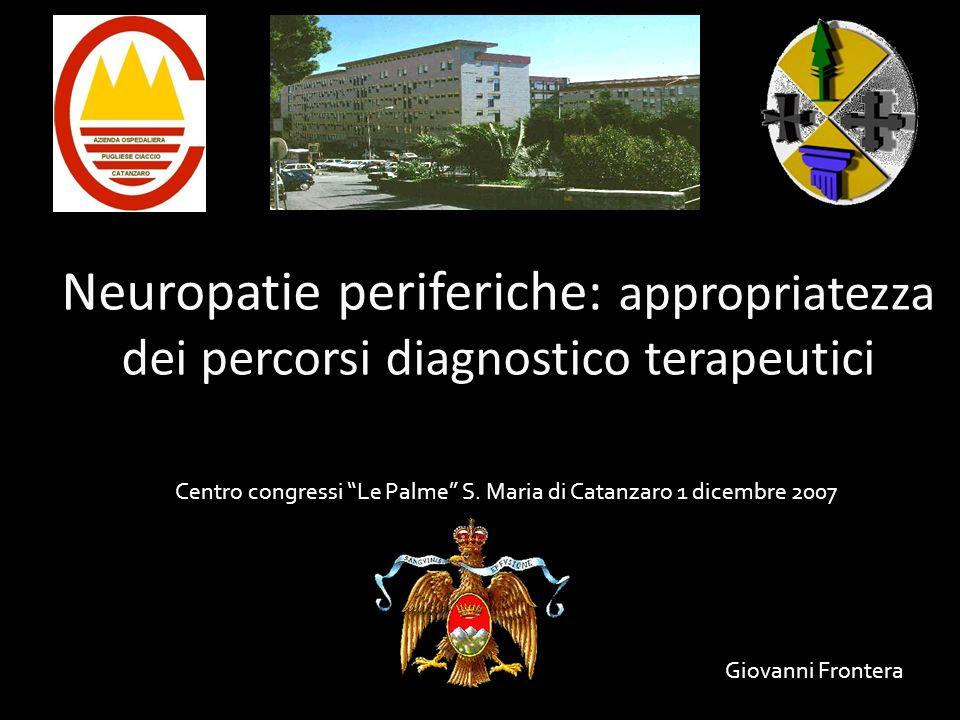 Centro congressi Le Palme S. Maria di Catanzaro 1 dicembre 2007