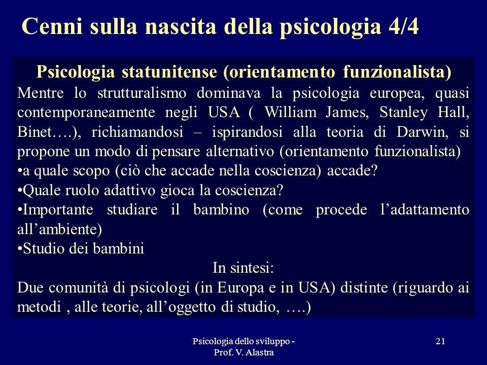 Psicologia statunitense (orientamento funzionalista)