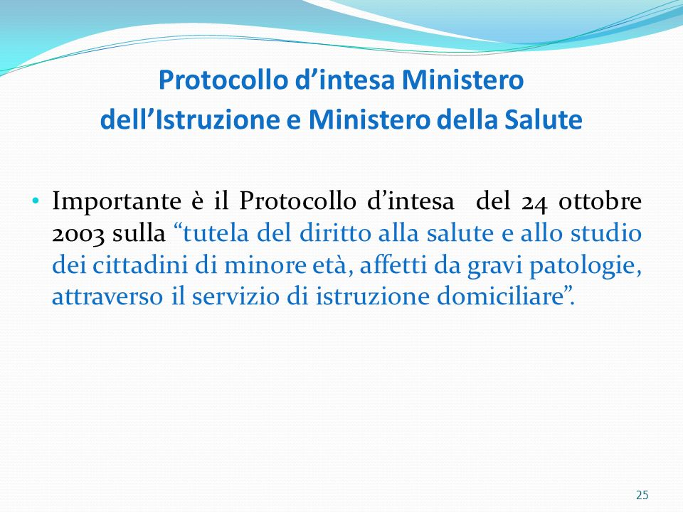 Protocollo d'intesa Ministero dell'Istruzione e Ministero della Salute