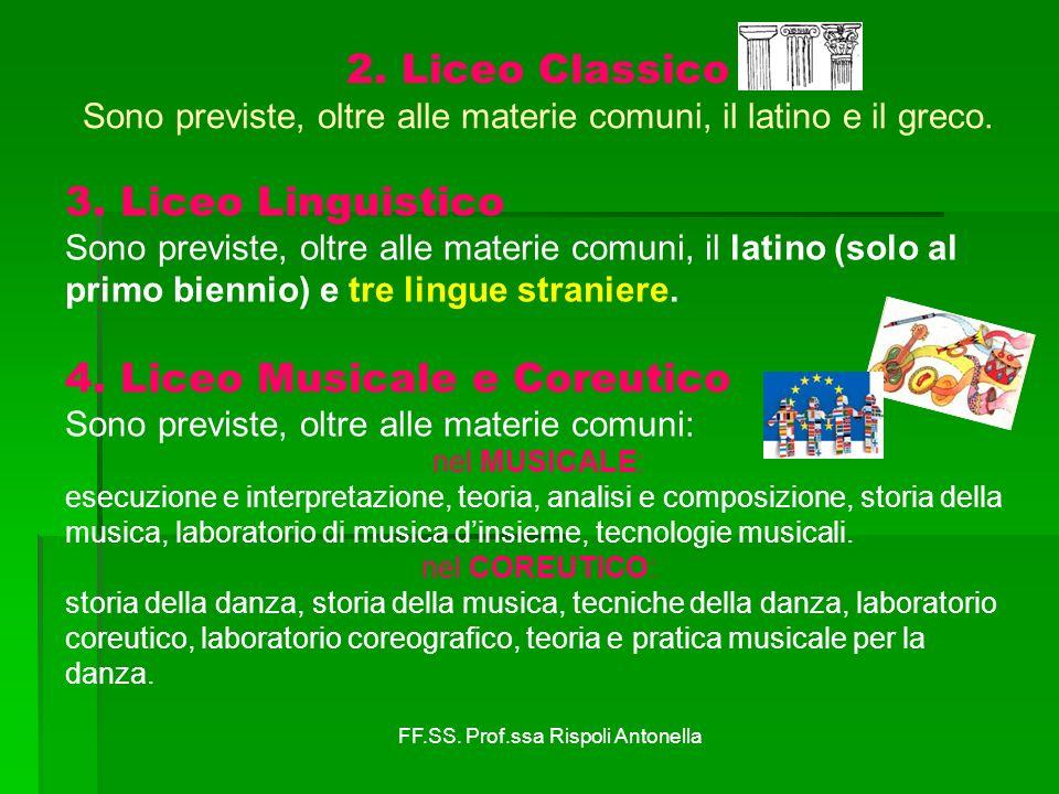 4. Liceo Musicale e Coreutico