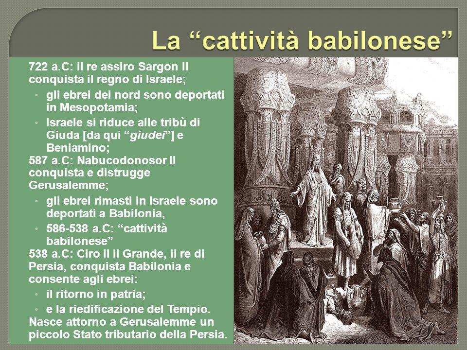 La cattività babilonese