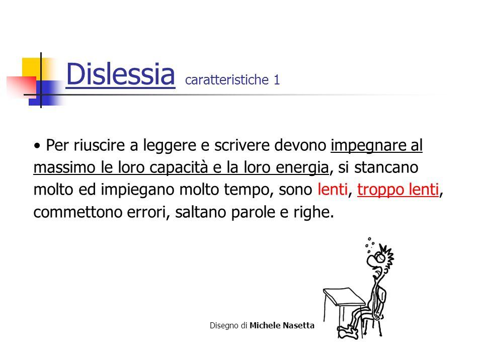 Dislessia caratteristiche 1