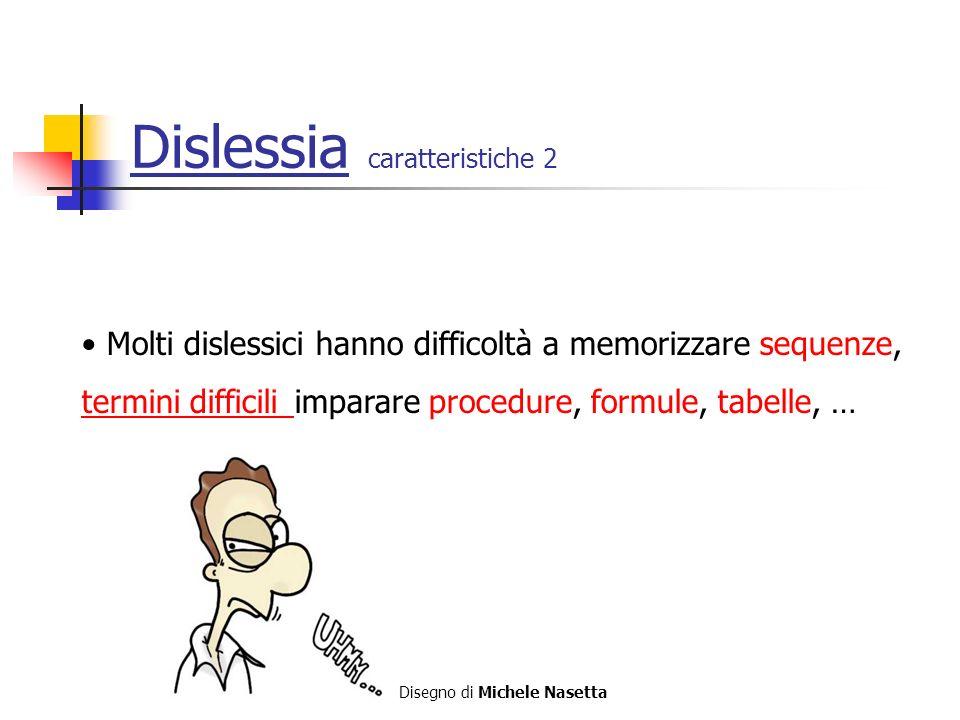 Dislessia caratteristiche 2