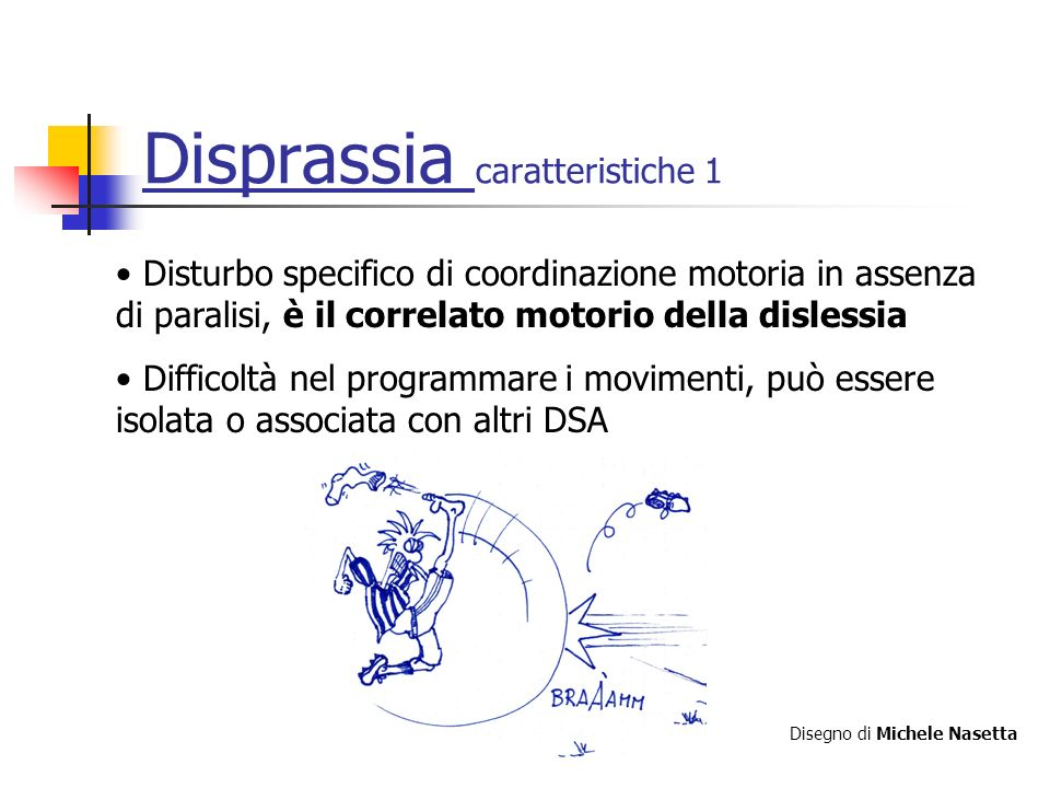 Disprassia caratteristiche 1