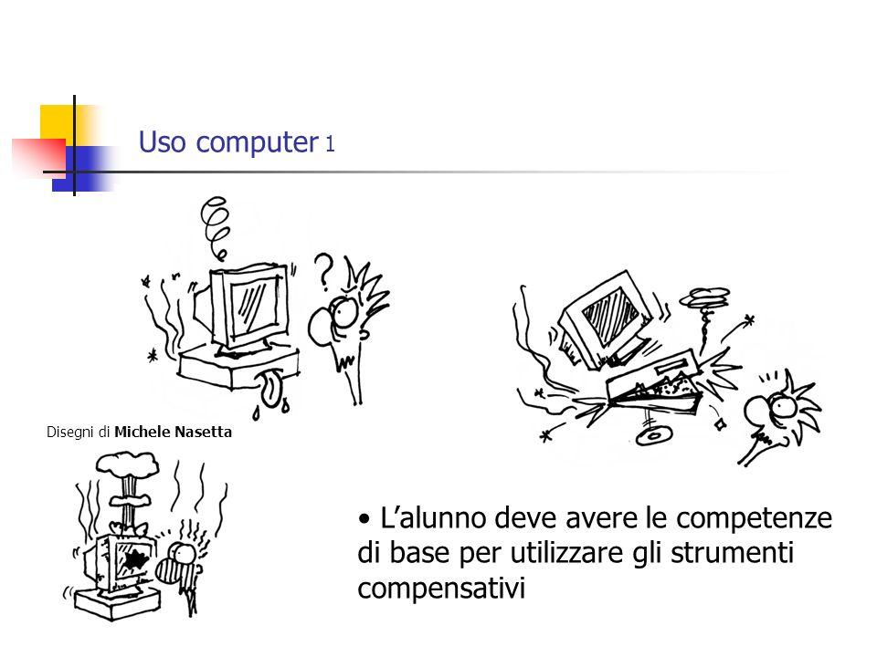 Uso computer 1 Disegni di Michele Nasetta.