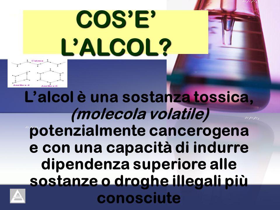 COS'E' L'ALCOL