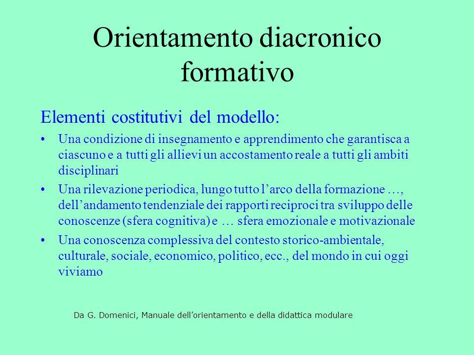 Orientamento diacronico formativo