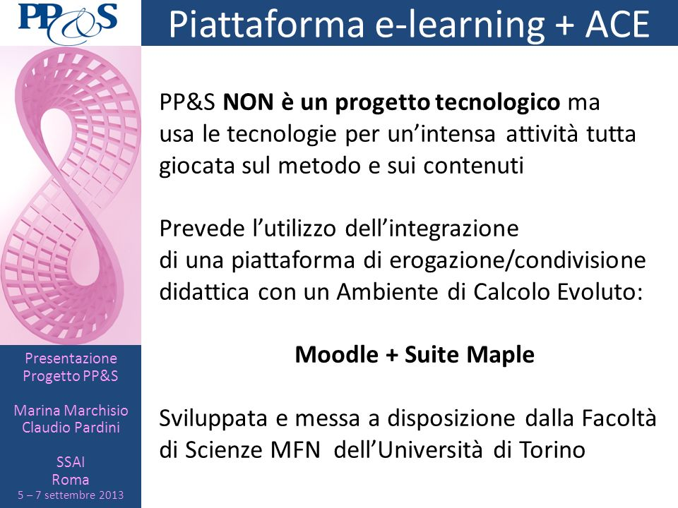 Piattaforma e-learning + ACE