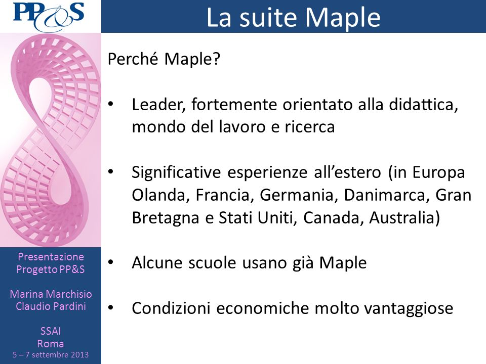 La suite Maple Perché Maple