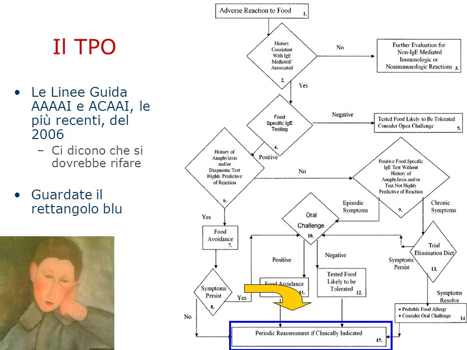 Il TPO Le Linee Guida AAAAI e ACAAI, le più recenti, del 2006