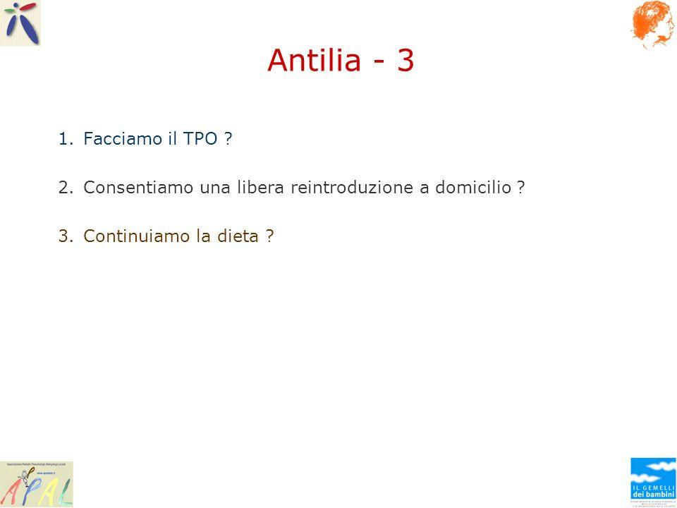 Antilia - 3 Facciamo il TPO