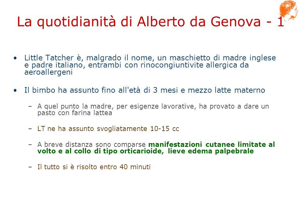 La quotidianità di Alberto da Genova - 1