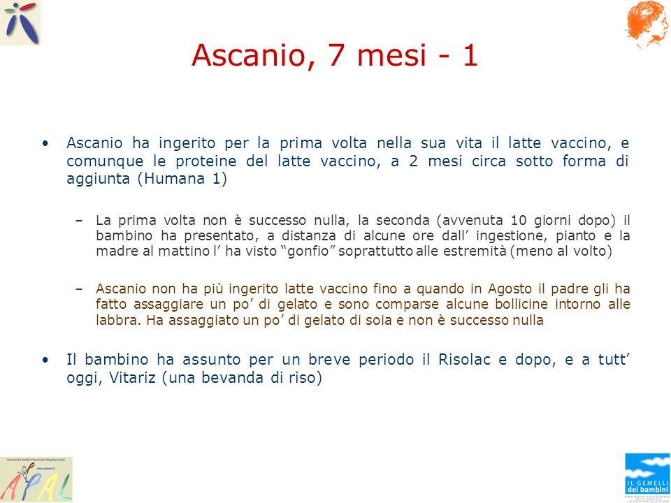 Ascanio, 7 mesi - 1