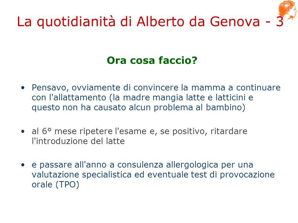 La quotidianità di Alberto da Genova - 3