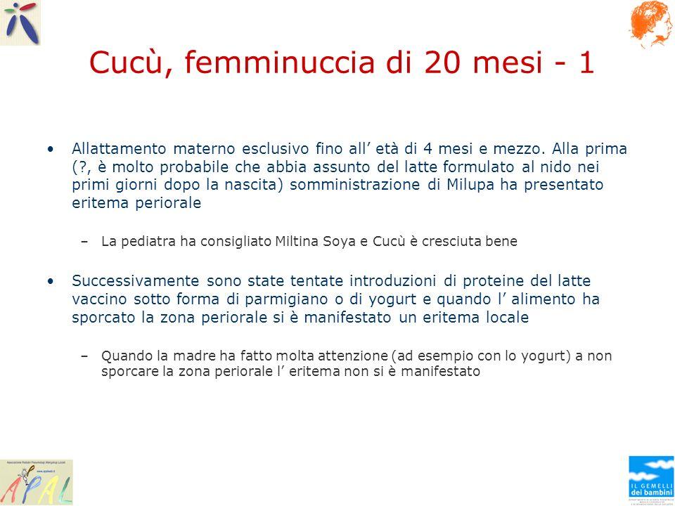Cucù, femminuccia di 20 mesi - 1